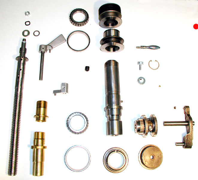 AMMCO Brake Lathe Infimatic / Drum Feed Gearbox Assembly Parts